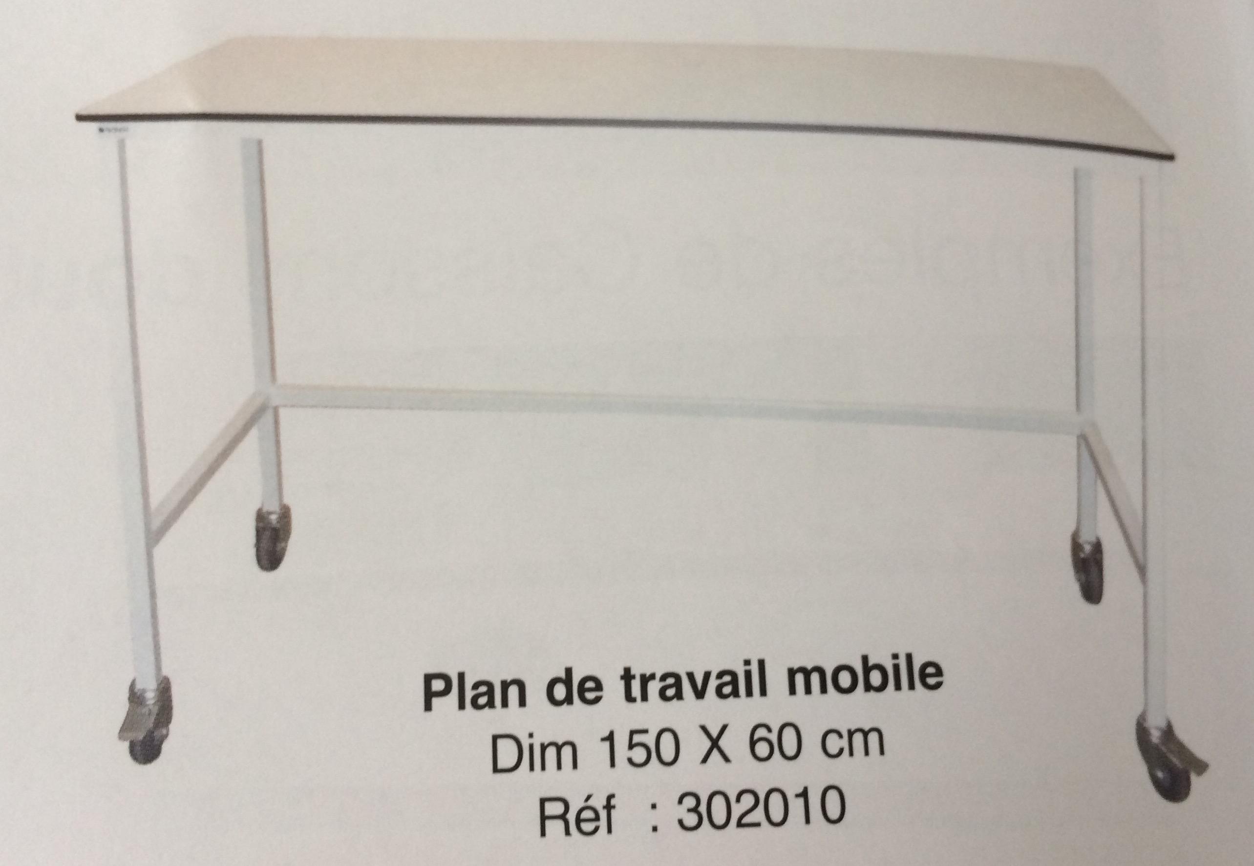 Plan De Travail Mobile orthopale